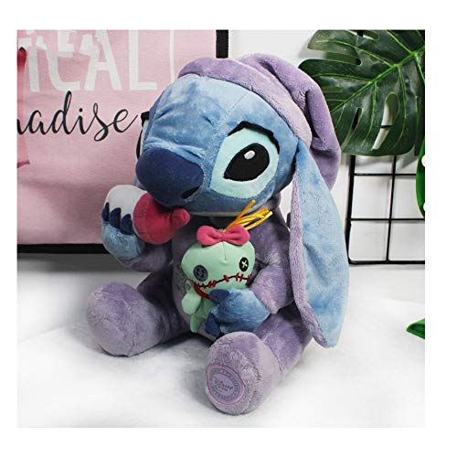 Flodance Stitch Plush Toys Stitch Holding Stuffed Animal Dolls Children Soft Toys for Children -