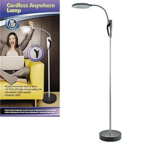 Cordless portable battery operated led take it anywhere reading cordless portable battery operated led take it anywhere reading floor lamp mozeypictures Gallery