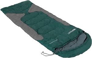 NTK Freedom Synthetic 2 Season Sleeping Bag, Hybrid Shape (Mummy/Envelope) for Camping, Backpacking, Hiking.