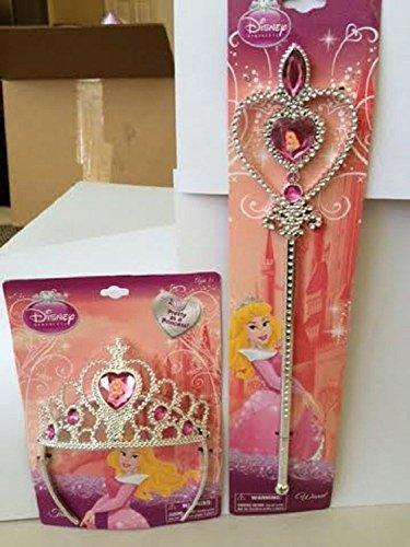 Disney Rapunzel Wand (Disney Princess Dress Up Sleeping Beauty Tiara and Wand)