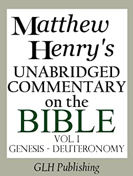 matthew henry bible commentary pdf