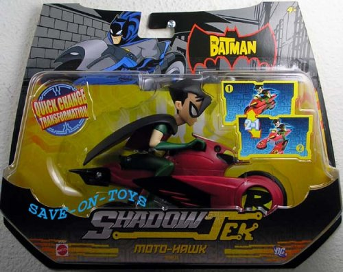 (Batman Shadow Tek - Robin with Moto Hawk Cycle)