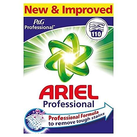 110wash Pack)  Ariel Professional Washing Powder Regular 110 ...