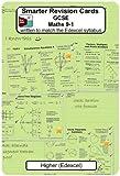 Smarter Revision Cards - GCSE Maths 9-1 Higher (Edexcel): Written to match the Edexcel Higher syllabus