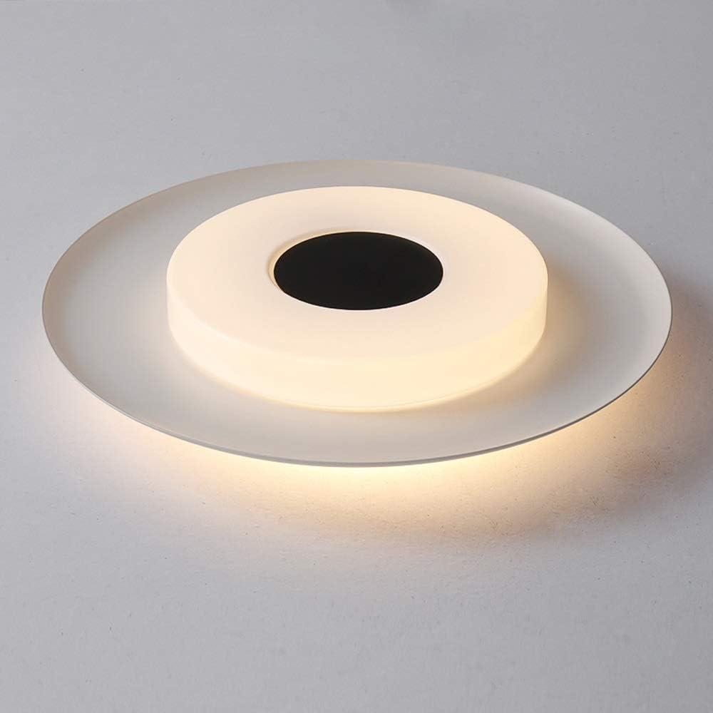 Aiqiyi Ménage Plafonnier Chaud LED Plafonnier Creative Lampe De Chambre Moderne Minimaliste Rond Plafond Lampe Atmosphère Personnalité Chambre Lampe Étude Lampe Warm Light