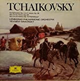 Tchaikovsky: Symphonies No 4 in F Minor Op 36, No 5 in E Minor, Op 64, No 6 in B Minor Op 74 Pathetique / Yevgeny Mravinsky and Leningrad Philharmonic Orchestra