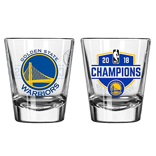 (Boelter Warriors Champions 2018, 2oz Shot Glass Package Of One)