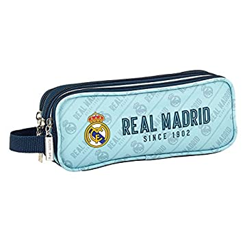 Real Madrid - Estuche escolar Triple Deluxe cielo since 1902 ...