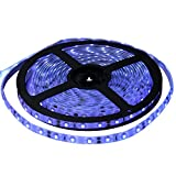 Miheal UV Blacklights LED Light Strip 5M/16.4ft 3528SMD Waterproof 300LED(Not includes the Power Supply)