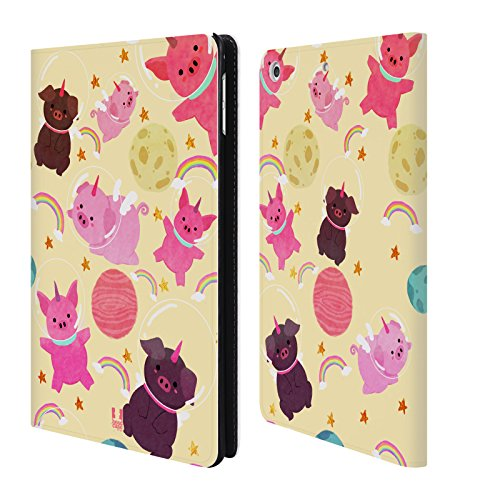 - Head Case Designs Pig Space Unicorns Leather Book Wallet Case Cover For Apple iPad mini 4