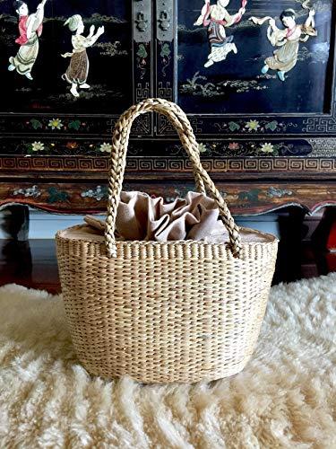 Basket Bag,Straw Bag,Straw Basket Bag,Market Basket Bags,Straw Basket Tote, Woven Straw Bag, Picnic Basket,Straw Tote,Straw Beach Bag