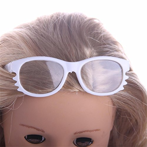 Round Frame Glasses for 18 inch Our Generation American Girl Doll By Coerni (B)