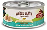 Whole Earth Farms Grain Free Receipe, 5 oz, Duck, 24 Count Larger Image
