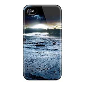 New Premium Amanda Diary Beautiful View Skin Case Cover Excellent Fitted For Iphone 4/4s