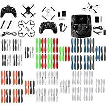Hubsan X4 Plus H107P [QTY: 1] Hubsan X4 H107D+ Plus FPV Quadcopter Drone RTF w/ 720P HD Camera 6-Axis Gyro 4-ch 2.4Ghz & 5.8ghz [QTY: 1] Cam PLUS H107C+ 4Ch [QTY: 1] HUBSAN H107P [QTY: 1] Black Clear
