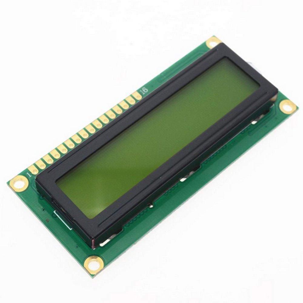Skyllc HD44780 1602 16x2 LCD Display Module Blue Blacklight BU20