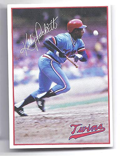 Kirby Puckett 1985 7 Eleven Fire Prevention Rookie Card Rc
