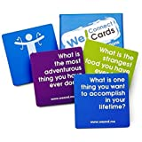 We! Connect Cards Icebreaker Questions Trust Building Games Teambuilding Activities Conversation Starters for Meetings…
