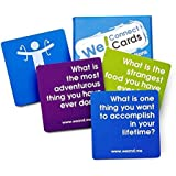 We! Connect Cards Icebreaker Questions Trust Building Games Teambuilding Activities Conversation Starters for Meetings and Wo