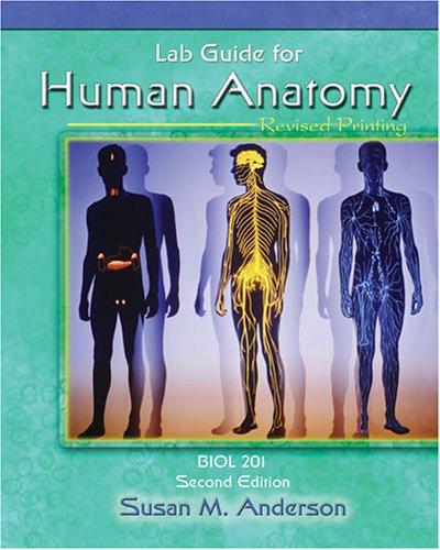 LAB GUIDE FOR HUMAN ANATOMY: BIOL 201