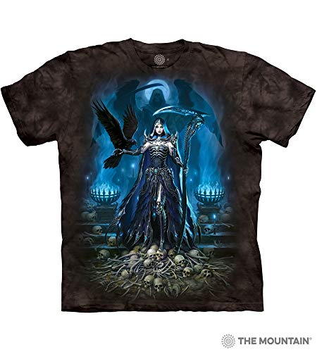 (The Mountain Reaper Queen Adult T-Shirt, Black, 2XL)