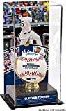Sports Memorabilia Gleyber Torres New York Yankees Youngest Player to Hit a Walk-Off Home Run in Yankees History Sublimated Display Case with Image