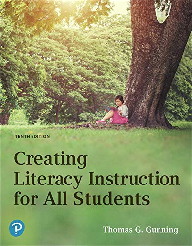 Creating Literacy Instruction for All Students plus MyLab Education with Pearson eText -- Access Card Package (10th Edition)