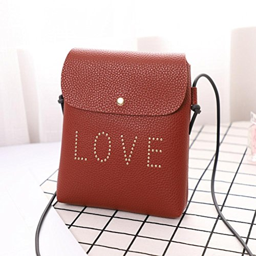 Clearance Fashion Sale Tote Flower Casual Messenger Butterfly Printed Ladies Classic Shoulder PU Women's Women Bag Brown1 for Bag Zipper Bag Vintage Leather Handbag Sunday77 dqrwSxr
