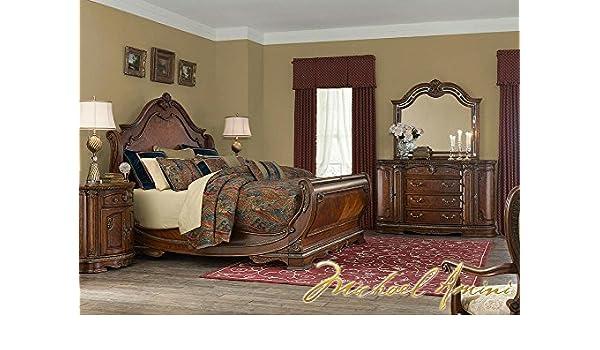 Amazon Com Bella Veneto 7 Pc King Bedroom Furniture Set By Michael