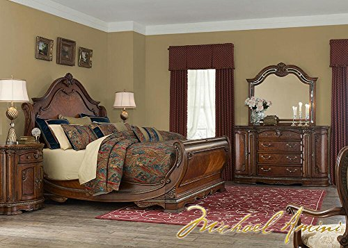 - Bella Veneto 4 Pc. King Bedroom Furniture Set By Michael Amini 16