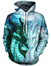 RONGANDHE Kids Novel 3D Printed Related for Unisex Souvenir Poullover Hoodie Sweatshirts for Boy/Girl
