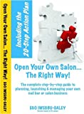Open Your Own Salon the Right Way!, Ego Iwegbu-Daley, 0956035124