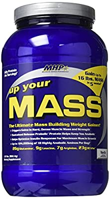 Mhp Up Your Mass, Vanilla, 2 Pounds by MHP