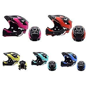 Mallalah Hoverboard Casque Sports de Plein Air Équipement de Protection Sécurité pour Roller Scooter Skateboard Vélo, Garçons Filles 5-11 Ans