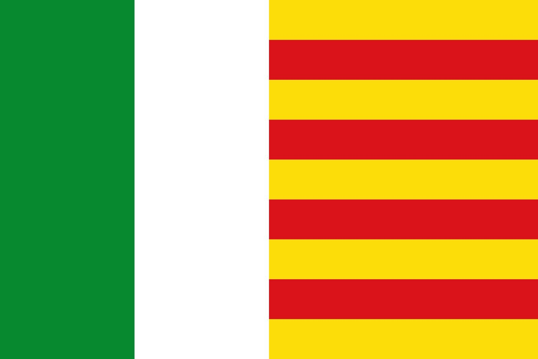 magFlags Bandera Large Pego Alicante, España   Bandera Paisaje ...