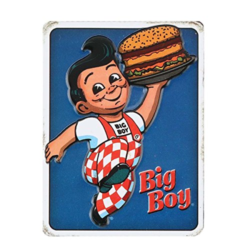 Open Road Brands Bob's Big Boy Embossed Metal -