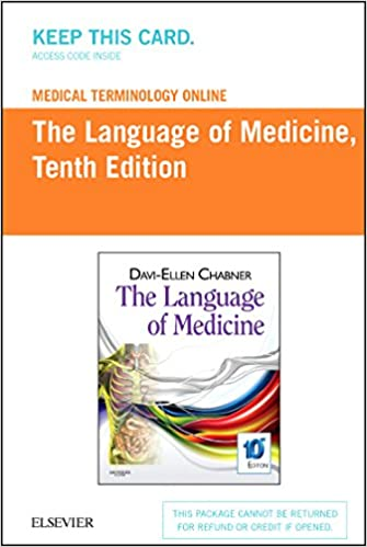 Medical terminology online for the language of medicine access code medical terminology online for the language of medicine access code 10e 10th edition fandeluxe Choice Image