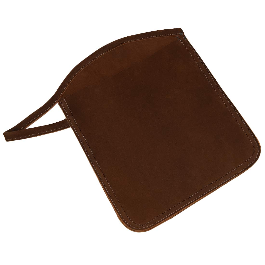 Hide & Drink, Rustic Leather Oven Mitt Handle Hanger, Home & Kitchen Essentials Handmade, Includes 101 Year Warranty :: Swayze Suede