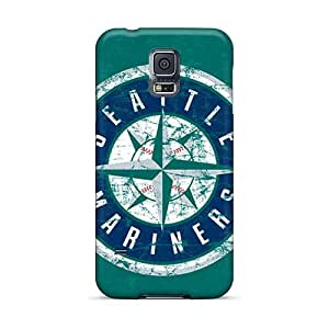 Samsung Galaxy S5 QKa21949uoXD Customized Trendy Seattle Mariners Pictures Great Cell-phone Hard Cover -AlainTanielian