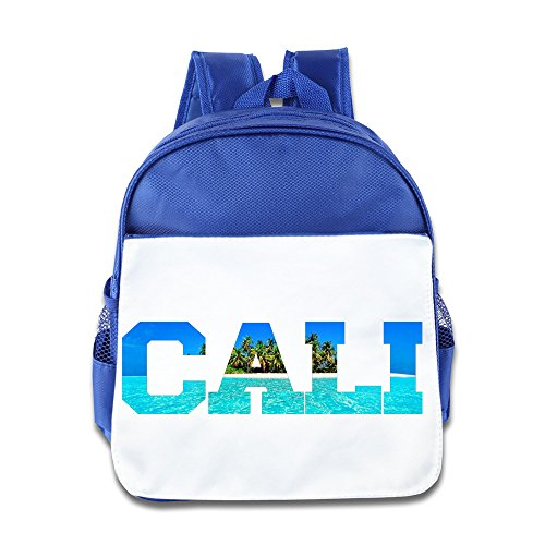 California Republic Turquoise Palm Backpack Children School Bag RoyalBlue