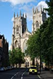 Street View of Church of Saint Peter in York Minster Cathedral Journal: Take Notes, Write Down Memories in this 150 Page Lined Journal