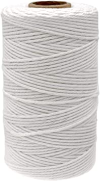 328 Feet Cotton String,Bakers Twines,Cooking String,Kitchen Twine White String for Arts Crafts and Gift Wrapping JIJIA