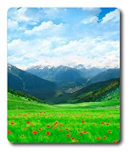 cool gaming mouse pad Grass Fields PC Custom Mouse Pads / Mouse Mats Case Cover