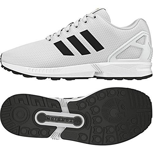 Adidas Mens Zx Flux Chaussures De Course Synthétiques Blanc