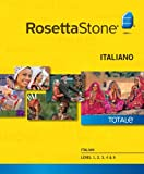 Software : Rosetta Stone Italian Level 1-5 Set [Download]