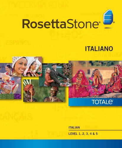 Rosetta Stone Italian Level 1-5 Set [Download]