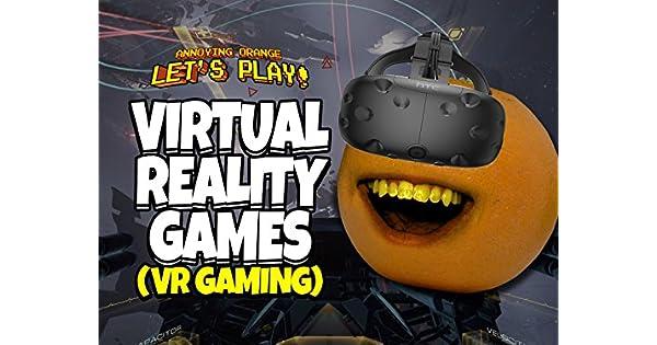 Amazon.com: Clip: Annoying Orange Lets Play Virtual Reality ...