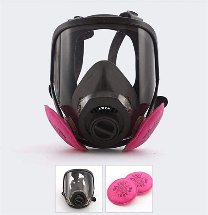Respirator Gas Mask Chemcial Full Face Respirator Widely Used In Organic Gas Paint Spary Chemical Woodworking Dust Protectio Amazon Ca Sports Outdoors