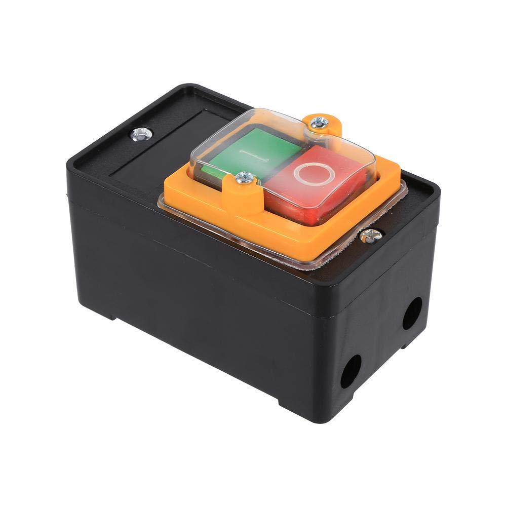 10A 380V Interruptor para peque/ñas maquinas bot/ón de encendido y apagado impermeable
