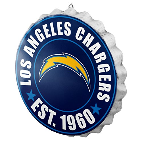 Los Angeles Chargers 2016 Bottle Cap Wall -